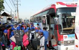 Bình Dương: Hỗ trợ 1.400 vé xe cho công nhân về quê đón Tết