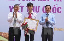 Học sinh Thanh Hóa đoạt giải Nhất cuộc thi viết thư quốc tế UPU 44