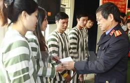 Hà Nội: Giảm án, tha tù trước thời hạn cho 305 phạm nhân