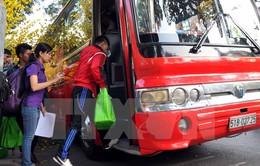 10.000 vé xe hỗ trợ công nhân về quê ăn Tết