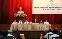 Bế mạc Hội nghị lần thứ hai Ủy ban Trung ương Mặt trận Tổ quốc