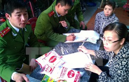 Thanh Hóa: Triệt phá xưởng sản xuất hàng tấn mì chính giả