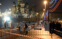 Nga bắt 2 nghi phạm sát hại cựu Phó Thủ tướng Nemtsov
