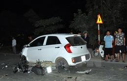 Quốc lộ 2 ùn tắc nhiều giờ liền do tai nạn giao thông chết người