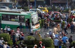 Tăng cường giải pháp khắc phục ùn tắc giao thông tại TP.HCM và Hà Nội