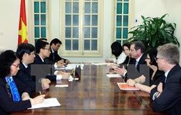 Phó Thủ tướng Vũ Đức Đam tiếp Giám đốc Quỹ Toàn cầu