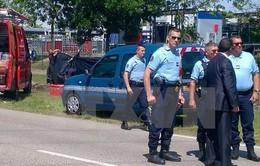 Pháp xác định danh tính đối tượng tấn công nhà máy khí đốt