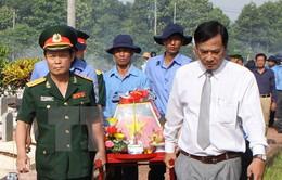 An táng hài cốt quân tình nguyện Việt Nam hy sinh ở Campuchia
