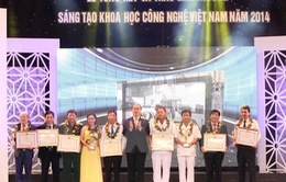 40 công trình nhận Giải thưởng Sáng tạo KH&CN Việt Nam 2014
