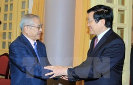 Chủ tịch nước tiếp Đoàn Hội hữu nghị Việt Nam - Nhật Bản vùng Kansai