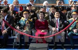 Chủ tịch nước dự kỷ niệm khai thác 10 triệu tấn dầu của công ty RusVietpetro