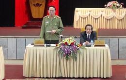 Bộ trưởng Trần Đại Quang làm việc với lãnh đạo tỉnh Quảng Bình