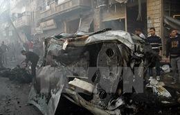 IS nhận tiến hành vụ đánh bom ở TP Homs (Syria)