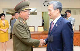 Hàn Quốc và Triều Tiên nhất trí giảm căng thẳng