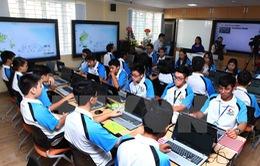 Lớp học sáng tạo ứng dụng công nghệ đầu tiên tại Việt Nam