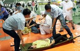 Nam Định: Cấp cứu kịp thời 48 công nhân bị ngộ độc thực phẩm