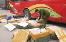 Ninh Bình: Thu giữ gần 6 tạ nội tạng động vật đã bốc mùi