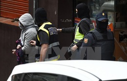 Tây Ban Nha bắt giữ 2 nghi can thiết lập mạng lưới IS