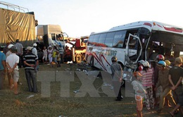 Tai nạn liên hoàn trên cao tốc TP.HCM - Long Thành - Dầu Giây