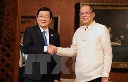 Việt Nam - Philippines thiết lập quan hệ đối tác chiến lược