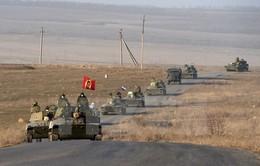 Ngoại trưởng Nga: Tình hình ở Đông Ukraine đang dần cải thiện