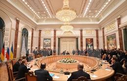 Bắt đầu hội nghị 4 bên tại Minsk về xung đột Ukraine