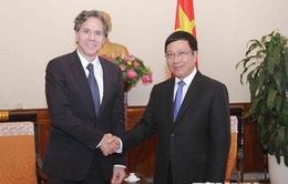 Phó Thủ tướng Phạm Bình Minh tiếp Thứ trưởng Thứ nhất Bộ Ngoại giao Mỹ