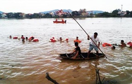 Nghệ An: 6 học sinh tử vong vì mưa lũ
