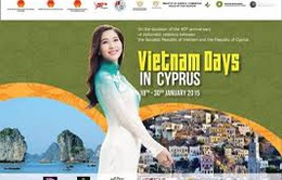 Nhiều hoạt động trong Tuần Văn hóa Việt Nam tại Cộng hòa Cyprus