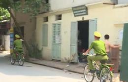 Hà Nội: 12 phường chính thức triển khai thí điểm tuần tra bằng xe đạp