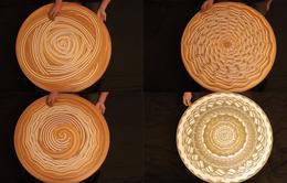 Ấn tượng nghệ thuật tạo hình với bàn xoay làm gốm