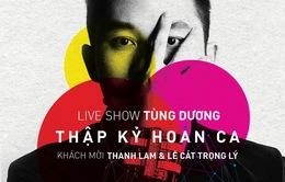 Tổ chức liveshow mới, Tùng Dương muốn thể hiện chân thực nhất cá tính bản thân