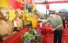 Bộ trưởng Trần Đại Quang dự Lễ đúc tượng Chủ tịch Hồ Chí Minh