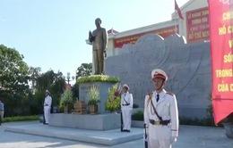 Khánh thành tượng đài Bác Hồ với Công an nhân dân
