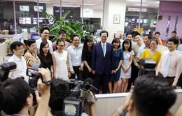 Thủ tướng dự Lễ kỷ niệm 45 năm Ngày phát sóng chương trình truyền hình đầu tiên của VTV