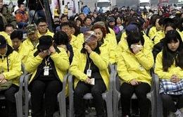 Hàn Quốc tưởng niệm 1 năm ngày chìm phà Sewol