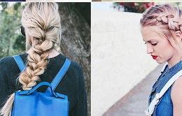 Những mẫu tóc tết khiến phái nữ mê mẩn