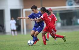 Giải bóng đá nữ U14 ĐNÁ: U14 Thái Lan củng cố ngôi đầu bảng