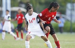 Giành 9 điểm tuyệt đối, U14 nữ Việt Nam gặp Myanmar ở bán kết