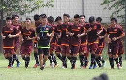 U19 Việt Nam rèn thể lực bằng bài tập chạy 40 phút không nghỉ