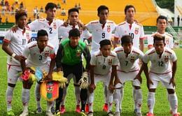U21 Myanmar được quan tâm tại giải U21 Quốc tế