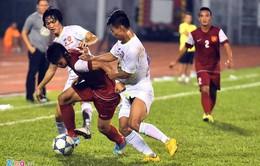 Hàng thủ mắc sai lầm liên tiếp khiến U21 HAGL thua ngược ở hiệp 1