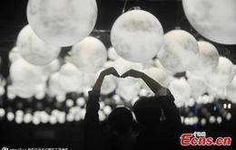"""Hàng nghìn """"mặt trăng"""" được thắp sáng tại Trung Quốc"""