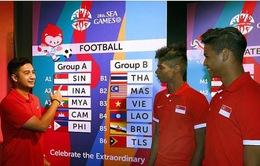 """HLV U23 Singapore thận trọng trước """"đội bóng sinh viên"""" Philippines"""