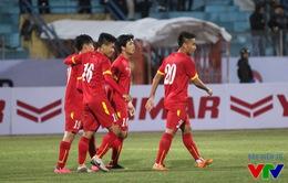 U23 Việt Nam nhận tiền lì xì năm mới 2016
