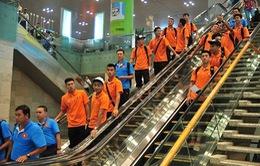 SEA Games 28: U23 Việt Nam ở khách sạn hạng sang tại Singapore