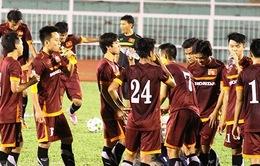 U23 Việt Nam tập buổi đầu tiên tại TP.HCM