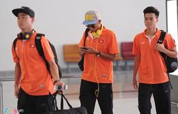 U23 Việt Nam lên đường sang Singapore