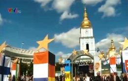 """Ukraine tổ chức """"Ngày châu Âu"""""""