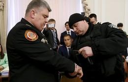 Ukraine bắt giữ quan chức cấp cao ngay trên sóng truyền hình